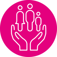 people-pink-icon